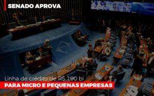Senado Aprova Linha De Crédito De R$190 Bi Para Micro E Pequenas Empresas - GCY Contabilidade