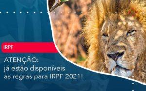 Ja Estao Disponiveis As Regras Para Irpf 2021 - GCY Contabilidade